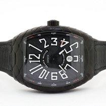 Franck Muller Steel Automatic Black Roman numerals 44mm new Vanguard
