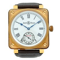 Bell & Ross BR 01 new 2010 Manual winding Watch with original box and original papers