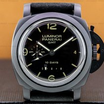 Panerai Luminor 1950 10 Days GMT Ceramic 44mm Black Arabic numerals United States of America, Massachusetts, Boston