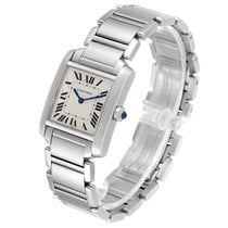 Cartier Tank Française Steel 30mm Silver Roman numerals United States of America, Florida, Boca Raton
