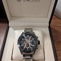 TAG Heuer CAR2A1W.BA0703 Steel 2018 Carrera Calibre HEUER 01 45mm pre-owned United States of America, Virginia, Johns Creek