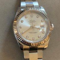 Rolex Datejust II Steel 41mmmm Silver No numerals