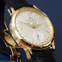 Jaeger-LeCoultre Yellow gold Automatic Silver Arabic numerals 37mm pre-owned Master Calendar