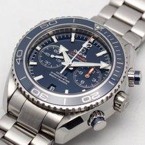 Omega Seamaster Planet Ocean Chronograph Steel 45.5mm Blue Arabic numerals