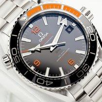 Omega Seamaster Planet Ocean Stål 43.5mm Svart Arabiska