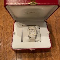 Cartier Santos 100 Steel 44.2mm White United States of America, Maryland, Baltimore