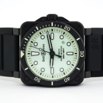 Bell & Ross BR 03 new 2020 Automatic Watch with original box and original papers BR0392-D-C5-CE/SRB