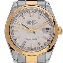 Rolex Lady-Datejust Gold/Steel 31mm White Roman numerals