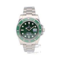 Rolex Submariner Date Steel 40mm Green