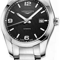 Longines Conquest Classic Steel 40mm Black United States of America, New York, Airmont