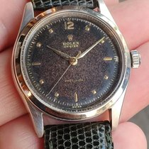 Rolex Oyster Precision Steel Brown