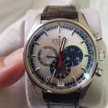 Zenith El Primero 36'000 VpH Steel 42mm Silver No numerals UAE, Abu dhabi