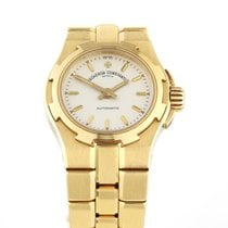 Vacheron Constantin Yellow gold Automatic 25mm pre-owned Overseas