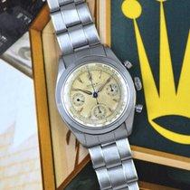 Rolex Chronograph 6234 Sehr gut Stahl 36mm Handaufzug