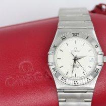 Omega Constellation Steel 34mm Silver No numerals