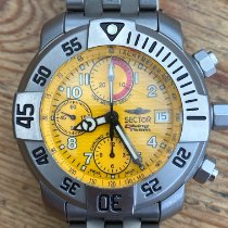 Sector Titanium 40mm 3123985055 pre-owned