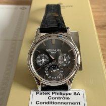 Patek Philippe Perpetual Calendar Platinum 37.2mm Grey No numerals