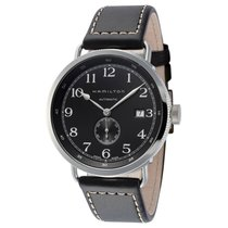 Hamilton Khaki Navy Steel 50mm Black Arabic numerals United States of America, Florida, Sarasota