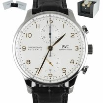 IWC Portuguese Chronograph new Automatic Watch with original box and original papers IW371604