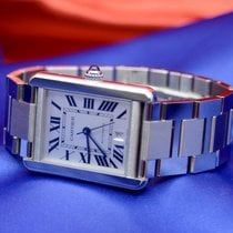 Cartier Steel Tank Solo pre-owned United States of America, New York, New York