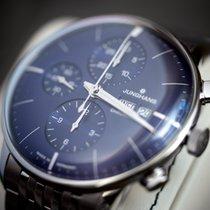 Junghans Meister Chronoscope новые 2020 Автоподзавод Хронограф Часы с оригинальными документами и коробкой 027/4528.44