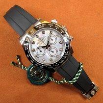 Rolex 116519LN Or blanc 2021 Daytona 40mm occasion