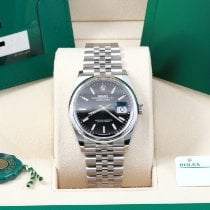Rolex Datejust Steel 36mm Black No numerals United States of America, California, Los Angeles