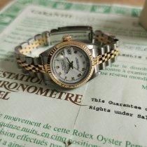 Rolex Lady-Datejust Gold/Steel 26mm White Roman numerals