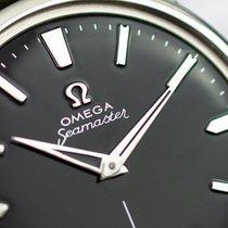 Omega Seamaster używany 35.5mm Czarny Stal