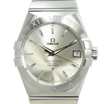 Omega 123.10.38.21.02.001 Steel 2021 Constellation Men 38mm new