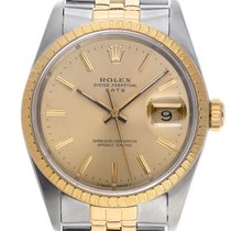 Rolex Oyster Perpetual Date 15233 Very good Steel 34mm Automatic