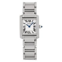 Cartier Tank Française Steel 20.5mm Champagne Roman numerals United States of America, Florida, Surfside
