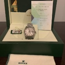 Rolex Datejust Steel 36mm Grey No numerals United States of America, New Jersey, North Caldwell