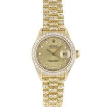Rolex 6917 Or jaune 1979 Lady-Datejust 26mm occasion