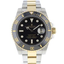 Rolex Submariner Date Gold/Steel 40mm Black