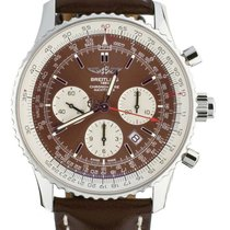 Breitling Navitimer Rattrapante Steel 45mm Brown United States of America, Illinois, BUFFALO GROVE