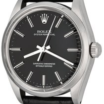 Rolex Oyster Perpetual 34 Steel 33mm Black No numerals United States of America, Texas, Dallas
