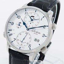 Glashütte Original Senator Cosmopolite Steel 44mm White Arabic numerals