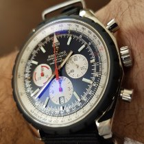 Breitling Chrono-Matic 49 pre-owned 49mm Black Chronograph Date Fold clasp