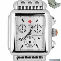 Michele Deco MW06A00A0025 Very good Steel 29mm Chronograph