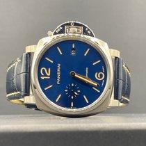 Panerai Luminor Due Titanium 42mm Blue Arabic numerals