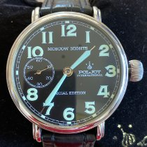 Poljot Moscow Nights Steel 43mm Black Arabic numerals