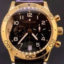Breguet Type XX - XXI - XXII Rose gold 39mm Black Arabic numerals