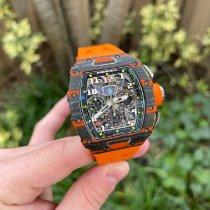Richard Mille RM 011 RM011-03 Unworn Carbon 49.94mm Automatic