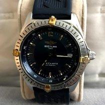 Breitling Antares Золото/Cталь 39mm Белый