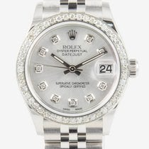 Rolex Lady-Datejust Steel 31mm Silver Roman numerals United States of America, California, Newport Beach, Orange County, CA