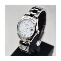 Rolex Lady-Datejust Сталь 31mm Cеребро Римские