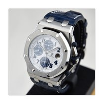 Audemars Piguet Royal Oak Offshore Chronograph Сталь 42mm Белый Aрабские