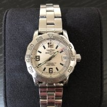 Breitling Colt Steel 33mm White Arabic numerals