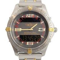 Breitling Aerospace Titanium 42mm Grey Arabic numerals